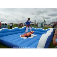 Buy cheap Children Inflatable Sports Games Mechanical Surf Simulator For Advertising from wholesalers