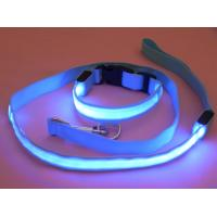 Buy cheap Led webbing leashes Pet led dog leashes from wholesalers