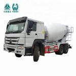 Buy cheap 4 Stroke Concrete Agitator Truck / Lengthen Cab Mobile Concrete Truck from wholesalers