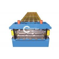Buy cheap Aluminium Profile Roofing Sheet Roll Forming Machine For Building Panel from wholesalers