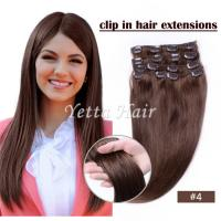 Buy cheap Brazilian pre bonded remy human hair extensions / Clipped in Hair Extensions from wholesalers