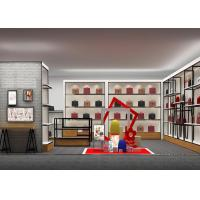 Buy cheap Customized Shopping Mall Retail Shop Display Shelving For Handbags / Suitcase from wholesalers