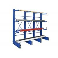 Buy cheap Multi layers shelving steel structural cantilever rack heavy duty cantilever racking from wholesalers