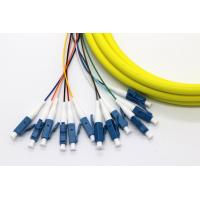 24 Core Multi Fiber Break Out Cable LC/UPC-LC/UPC Strip on 0.9mm tight buffer