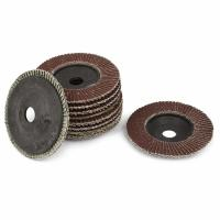 Buy cheap 4 inch Abrasive Tool Flap Wheel Abrasive Grinding Discs 320 Grit 10 Pcs from wholesalers