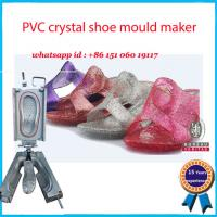 Buy cheap High Heel Footwear Mold Pink Yellow Elegant Crystal Shoe Mould Maker from wholesalers