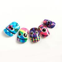 Buy cheap Children Lovely Dark In Grow Fake Nails Orange / Black Colorful Nail Art product