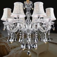 Buy cheap New Modern led crystal chandelier s for Dining room kitchen Livingroom Bedroom K9 crystal lustrwa de teto chandelier from wholesalers