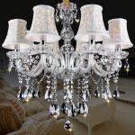 Buy cheap New Modern led crystal chandelier s for Dining room kitchen Livingroom Bedroom K9 crystal lustrwa de teto chandelier from wholesalers