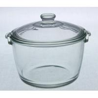 Buy cheap Pyrex glass pot/casserole with lid,different sizes and shapes from wholesalers