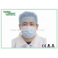 Buy cheap 20 - 40 Gsm PP SMS Doctor Disposable Head Cap Elastic at Back from wholesalers