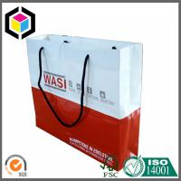 Buy cheap CMYK Full Color Printing Paper Gift Bag; Cotton Handle Paper Bag; Color Bag from wholesalers