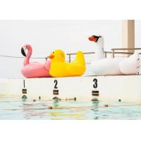 Buy cheap Giant Inflatable Water Toys Float Swan Inflatable Flamingo For Pool from wholesalers