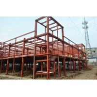 Buy cheap Clear Span Prefabricated Industrial Buildings Galvanized Insulation Energy Saving product