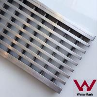 China WATERMARK bathroom stainless steel shower drain grate on sale