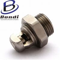 Buy cheap 316SS Self-cleaning Flat Fan Spray Nozzle,Cleaning Atomizing Nozzle Stainless Steel from wholesalers