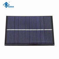 Buy cheap ZW-84112 Waterproof 6V cheapest portable solar panel for DIY 6V 1.5W Epoxy Solar Panel Photovoltaic for MP3 product