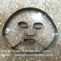 Buy cheap Facial mask cutting steel knife dies, steel rule cutting die for cosmetic products from wholesalers