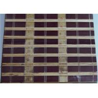 Buy cheap Popular Bamboo Roller Blinds , Patio Bamboo Roll Up Shades Costom Pattern from wholesalers