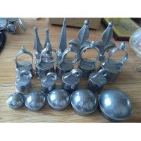 Buy cheap Commercial Grounds Chain Link Fence Fittings Aluminum Die Casting Fence Post product