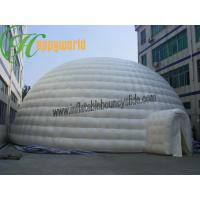 Buy cheap Giant Square Inflatable Party Tent PVC Tarpaulin White Outdoor Lgloo from wholesalers