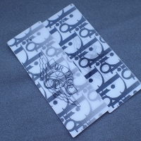 Buy cheap Recycled Paper 3D Logo CMYK Cloth Hang Tags from wholesalers