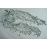 Buy cheap Cotton/Nylon Lace Scarf (0908-02) product