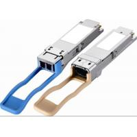Buy cheap Single Mode SMF QSFP+ Module 1310nm 40G LR4 LC Connector QSFP Transceiver Module from wholesalers