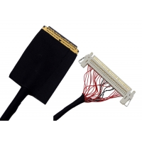 China HDMI High Definition Black 1.0mm 36 AWG LVDS Cable on sale