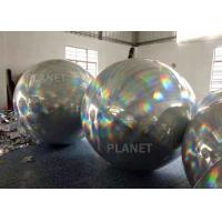 Buy cheap Bright Color Silver Balloon Inflatable mirror ball For Party Decoration from wholesalers
