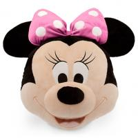 Buy cheap 16 Inch Black Pink Disney Stuffed Animals Cushion And Pillow Pack from wholesalers