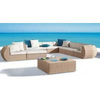 Buy cheap 7pcs patio luxury rattan furniture from wholesalers