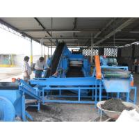 Buy cheap Eco Friendly Shredder Waste Tire Recycling Plant Making Crumb Rubber from wholesalers