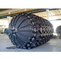 Buy cheap Black Gas Filled  Pneuamtic Rubber Fenders For Ship Berthing Protection from wholesalers