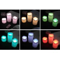 Buy cheap flameless remote control led light candle from wholesalers