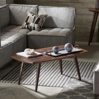 Buy cheap Living Room Solid Wood Coffee Table , Recycle Pine Wooden Side Table from wholesalers