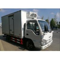 Buy cheap ISUZU 2 Tons Ice Box Truck , Refrigerated Cold Room Truck For Frozen Fish Transportation from wholesalers