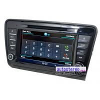 Buy cheap 8 Car Stereo GPS Navigation Headunit for Skoda Octavia Car Stereo DVD Player from wholesalers
