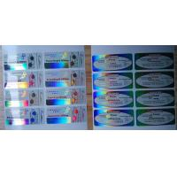 Buy cheap Holographic Laser Reflective Labels in Plastic from wholesalers