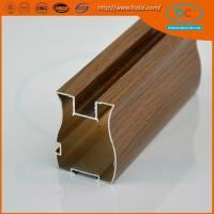 Buy cheap Customer 6000 Matt aluminum wardrobe profile, wardrobe profile,SS brush aluminum profile product