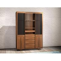 Buy cheap 2017 New walnut wood Bespoke Furniture Storage Cabinet Display Shelves with from wholesalers