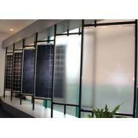 China 3.2mm Solar Panel Low Iron Tempered Glass , Patterned Toughened Glass For Solar Industrial on sale