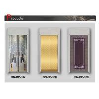 Buy cheap Luxury Glass Steel Elevator Door 2000mm 2100mm Opening Height from wholesalers
