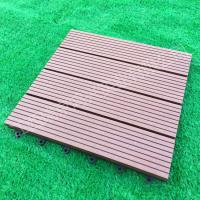 Buy cheap Wood-Plastic Composite Flooring Technics and Engineered Flooring Type eco wpc deck tiles from wholesalers