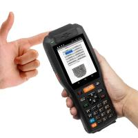 Buy cheap 4GB Industrial Barcode Scanner 7.4V 3400mAH Lithium Battery With Thermal Printer product