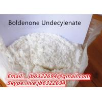 Buy cheap Factory supply  99% Purity Boldenone Steroids Boldenone Undecylenate yellow liquid CAS NO 13103-34-9 from wholesalers