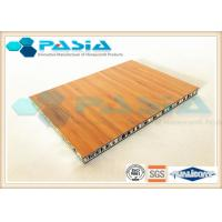 Buy cheap Bamboo Veneer Composite Aluminum Faced Panels Soundproof Antirust from wholesalers