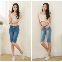 Buy cheap hot sell summer fashion ladies short jeans denim pants china factory wholesales from wholesalers