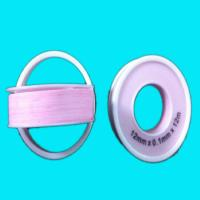 Buy cheap High Density Pink Teflon Tape , PTFE Thread Seal Tape 12mm x0.1mm x12m from wholesalers