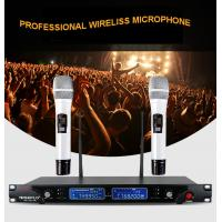 Buy cheap Automatic frequency professional wireless microphone SE-2013R, high quality PLL wireless collar micorphone for singing from wholesalers